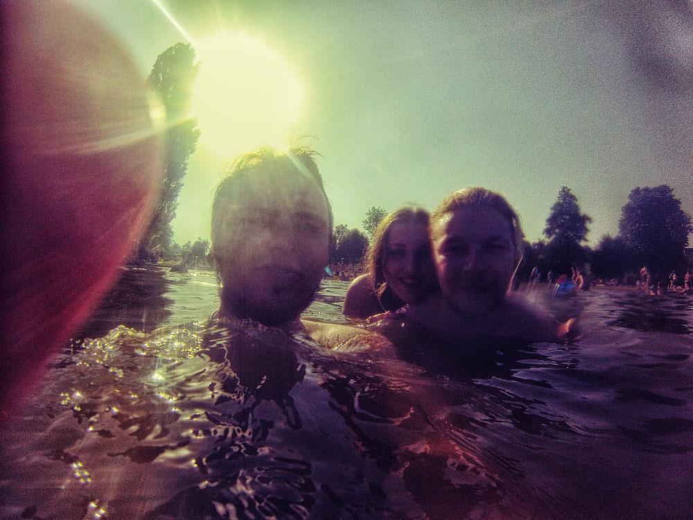 GoPro im Wasser = FUN