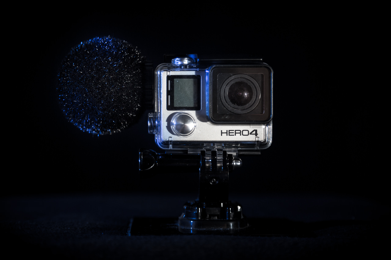 SENNHEISER MKE 2 elements + GOPRO 4 Black
