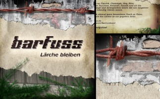 Barfuss - Lärche bleiben // CD Artwork