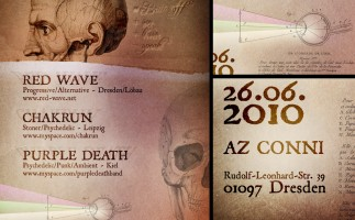 Red Wave - Live in AZ Conni Dresden // Flyer