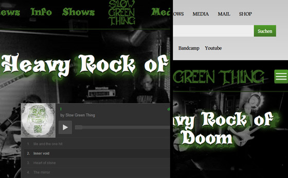 Slow Green Thing - Hard Rock of Doom